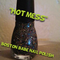 hot mess - 12ml ULTRA GLITTERY nail polish