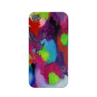 Colorful Abstration iPhone 4 Case from Zazzle.com