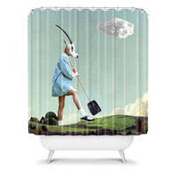 DENY Designs Home Accessories | Natt Gardening Shower Curtain