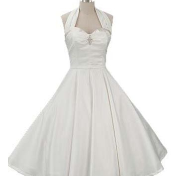 50s Style Wedding Dresses Ivory 1950s From Blue Velvet Vintage