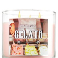 Gelato 14.5 oz. 3-Wick Candle   - Slatkin & Co. - Bath & Body Works
