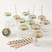Anthropologie - Mason Jar Sippers