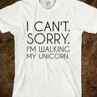 WALKING MY UNICORN
