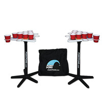 Point Pong Floatable Beverage Pong Table at Brookstone—Buy Now!