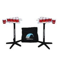 Point Pong Floatable Beverage Pong Table at BrookstoneBuy Now!
