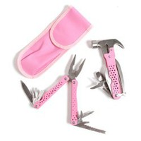 College Girl's Tool Set - Cute Girl's Tool Set for College Dorm Room Use
