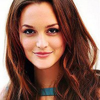 [239.99] Custom Leighton Meester Hair Style Medium Length Wavy Hand Tied Full Lace 100% Human Hair Wig - Dressilyme.com