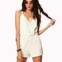 Crocheted Romper | FOREVER 21 - 2057786197