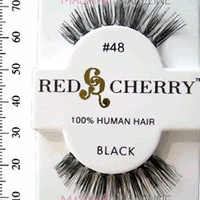 Madame Madeline: Red Cherry Lashes #48, Red Cherry Natural Lashes