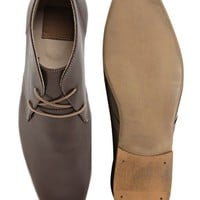ASOS Chukka Boots in Leather at asos.com