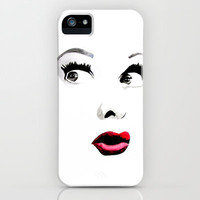 Ms. Lucille Ball iPhone & iPod Case by HAUS OF DEVON