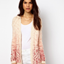 Warehouse Geo Ombre Cardigan