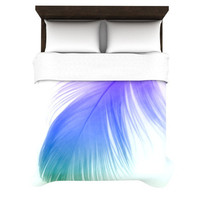 "Alison Coxon ""Feather Colour"" Duvet Cover 