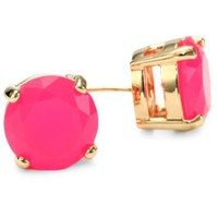 Kate Spade New York Gumdrops Pink Stud Earrings - designer shoes, handbags, jewelry, watches, and fashion accessories