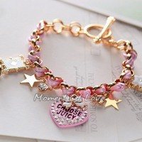 [grxjy5120033]Retro love multi-element pendant bracelet