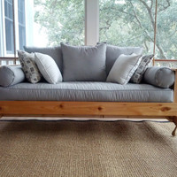Cedar Swing Bed