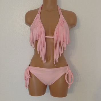 Fringe swimsuit