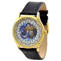 World Time Watch (Gold / Earth)