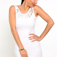 Au Natural Lace Dress- Lovers and Friends- $158