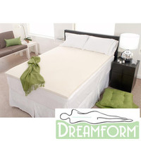 Dream Form Eco-friendly 2-inch 2-pound Density Memory Foam Mattress Topper | Overstock.com