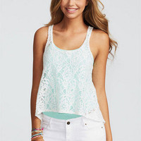 Lace Hi-Lo Tank