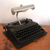 The Oliver Typewriter Lamp  Lighting  Recreate
