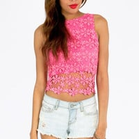 Have A Daisy Day Crop Top $33