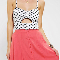 Pins And Needles Peek-A-Boo Bra Top
