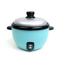 Sky Blue Rice Cooker Coin Bank