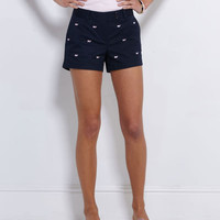 Womens Shorts: Embroidered Dayboat Shorts for Women  Vineyard Vines