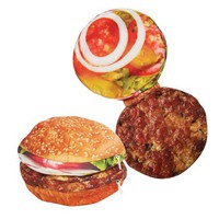 Hamburger Yummy Pocket - Zipper Pouch Holds All Your Stuff!  - Whimsical &amp; Unique Gift Ideas for the Coolest Gift Givers