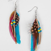Daytrip Feather Earring - Women's Accessories | Buckle