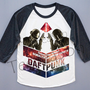 Galaxy Daft Punk T-Shirt Galaxy Shirt Electronic Music Duo Shirt Baseball Tee Shirt Long Sleeve Shirt Women T-Shirt Unisex T-Shirt (S, M, L)