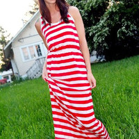 Fall In Line Maxi Dress - Bliss Salon and Boutique