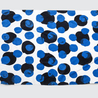 White & Black Dots Towel