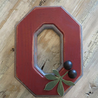 Rustic Ohio State Block O