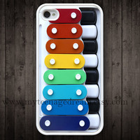 iPhone 4 Case, iPhone 4s Case, Toy iphone 4 case, Toy Xylophone iPhone Case, Case for iphone 4 4s