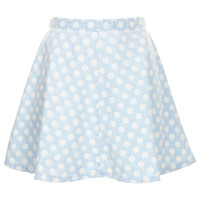 MOTO Bleach Spot Denim Skirt - Skirts - Clothing - Topshop USA