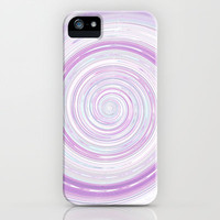 Re-Created Spin Painting No. 16 iPhone & iPod Case by Robert Lee