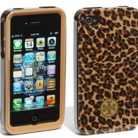 Tory Burch iPhone 4 4S Phone Case in Little LEOPARD for ATT Verizon:Amazon:Cell Phones &amp; Accessories