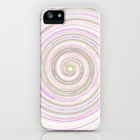 Re-Created Spin Painting No. 17 iPhone &amp; iPod Case by Robert Lee