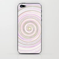 Re-Created Spin Painting No. 17 iPhone &amp; iPod Skin by Robert Lee