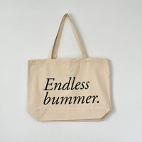 endless bummer tote bag, JUMBO SIZED