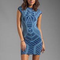 Torn by Ronny Kobo Victoria Dress in Blue from REVOLVEclothing.com