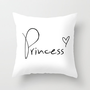 Princess Heart Throw Pillow by RexLambo
