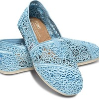 Blue Crochet Women&#x27;s Classics
