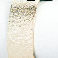 Coveted Gold Metal Cuff - Black -  $14.50 | Daily Chic Accessories | International Shipping