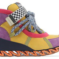 Bernhard Willhelm X Camper 46489 in Orange Purple Multi at Solestruck.com