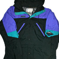 Vintage 90s Mens Columbia Winter Jacket Mens Size Medium