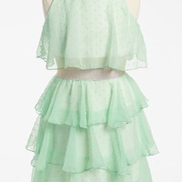 Un Deux Trois Tiered Chiffon Dress (Big Girls) | Nordstrom